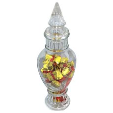 Victorian-Inspired Candy Jar w/ Original Lid
