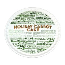1983 Royal China ~ Ceramic 'Holiday Carrot Cake' Plate