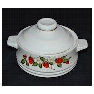 Sheffield ~ Strawberries n' Cream Sugar Bowl with Lid