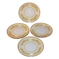 1930s Noritake China ~ Hermosa Pattern ~ Set of 6 Salad Plates