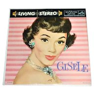 1958 Gisele ~ Debut LP Living Stereo Record