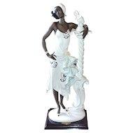 Giuseppe Armani 'Mahogany' Ceramic Sculpture ~ Italy