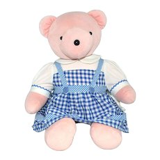 1993 Judy Bearland ~ Wizard of Oz 'Dorothy' Pink Plush Bear