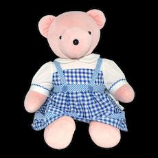 1993 Judy Bearland ~ Wizard of Oz 'Dorothy' Pink Plush Bear