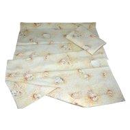 Springmaid ~ Set of 2 Seashell & Sand Nautical Theme Standard Pillowcases