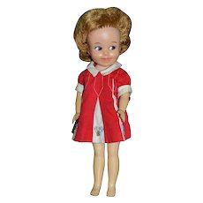 1963 Penny Brite Doll w/ Original Red Dress