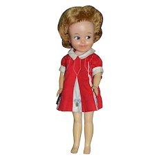 1963 Penny Brite Doll w/ Original Red Dress