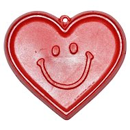 1982 Hallmark ~ Smiley-Face Heart Cookie Cutter