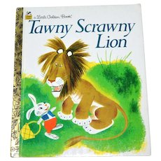 Tawny Scrawny Lion ~ A Little Golden Book