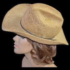 Bailey U-Rollit ~ Western Straw Cowboy Hat   Kitsch   Couture  5dfabb3199b