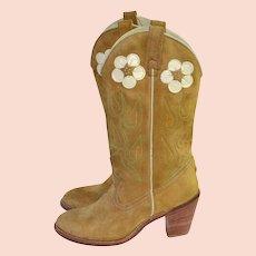 ef2a37c34dd Cowboy Boots Vintage Fashion   Ruby Lane