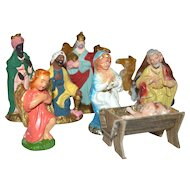 13-Pc Christmas Nativity Set