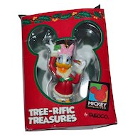 Enesco Disney Daisy Duck Christmas Ornament w/ Original Box
