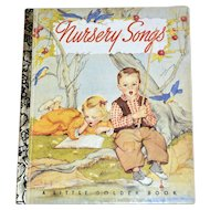 1992 Nursery Songs 50th Anniversary Little Golden Book