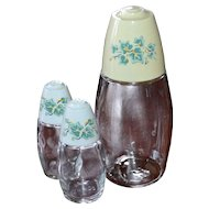 Gemco 3-Pc English Ivy Sugar & Salt and Pepper Shakers
