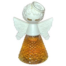 1970s AVON Sweet Honesty Heavenly Angel 2 oz Cologne ALMOST FULL!