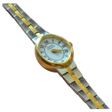 Anne Klein II Ladies Two-tone Silver/Goldtone Watch