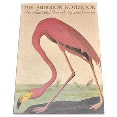 New 1981 The Audubon Notebook Never Used Bird Illustrated Journal