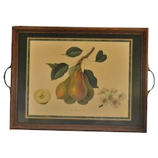 Pimpernel England 'Jargonelle Pear' Royal Horticultural Society Decorative Wood Tray