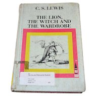 1968 The Lion, The Witch And The Wardrobe Hardcover Book by C.S. Lewis