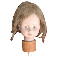Long, Light Brown Hair Doll Wig