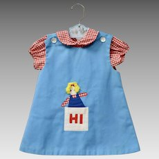 50eea77c9e72 Blue Bird Campfire Uniform Child 3 Piece 1950s   Allie s Antiques ...