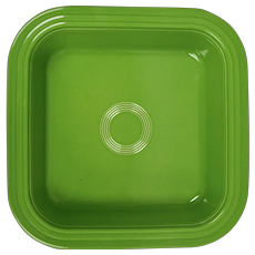 Fiesta Shamrock Green Square Baking Pan / Dish