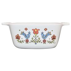 Corning Ware Country Festival Friendship 2 3/4 cup Casserole Dish