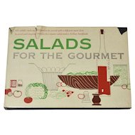 Circa 1954 Salads For The Gourmet First Edition Hardcover Book w/ Dustjacket