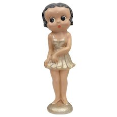 Circa 1930s Rare Betty Boop Large Plaster Statue Figurine Advertising Display