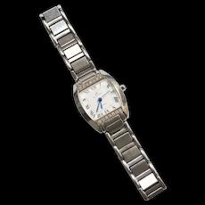 Klaus - Kobec Ladies Charisma Genuine Diamond Swiss Quartz  Wrist Watch with Calendar Date