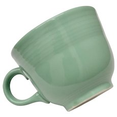 Homer Laughlin Fiesta Retired Sea Mist Green Cup