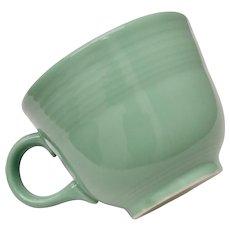 Homer Laughlin Fiesta Retired Sea Mist Green Cup