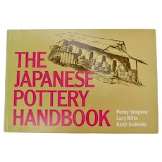 """""""The Japanese Pottery Handbook"""" by Penny Simpson & Kanji Sodeoka Lettering & Drawings by Lucy Kitto"""