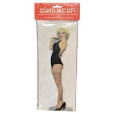 """Marilyn Monroe """"STAND-ME-UP!"""" Cutout"""