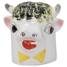 Circa 1958 Holt Howard Moo Cow Single Pepper Shaker