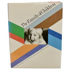 "c1977 ""The Family of Children"" Art Photography B&W Photo Collection Hardcover Book w/Dust Jacket"