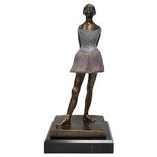 "S. Eylanbekov ""The Petite Danseuse"" Alva Museum Ballerina Sculpture"