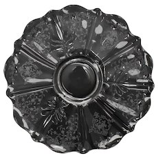Fostoria Navarre Clear Baroque Torte Plate