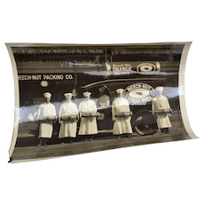 "Circa 1920's Beech-Nut Packing Co. Brand B&W 8"" x 10"" Photo"