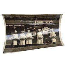 "Circa 1920's Beech-Nut Packing Co. Brand B&W 8"" x 10"" Photo"