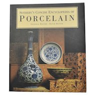 Sotheby's Concise Encyclopedia of Porcelain Large Softcover Reference Book