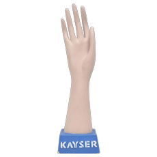 "Rare Circa 1940s Kayser Lingerie Plaster Hand 14 3/8"" Mannequin Glove Display"