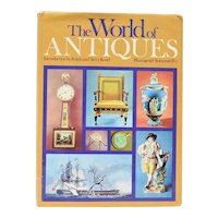 """c1970 """"The World of Antiques"""" Introduction by Ralph & Terry Kovel Hardcover Book w/ DJ"""