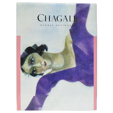 """Chagall"" History of Artwork Hardcover Book by Werner Haftmann"