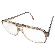 c1970s Titmus Signed Aviator Style Eyeglasses