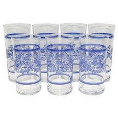 Pfaltzgraff Yorktowne Drinking Glasses/Tumblers - Set of 7