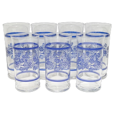 Pfaltzgraff Yorktowne Drinking Glasses/Tumblers - Set of 7