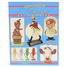 "c1993 ""Advertising Character Collectibles: An Identification and Value Guide"" by Warren Dotz Softcover Book"