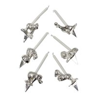 Reed & Barton Silver-plated 6-Pc Circus Animal Candle Holder Set